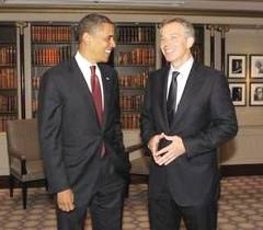 How alike are Barack Obama and Tony Blair?