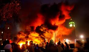 The Riots Have Nothing to do With The Police or The Government