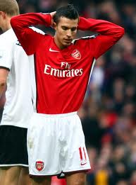 Why does Robin Van Persie hit the post somuch?