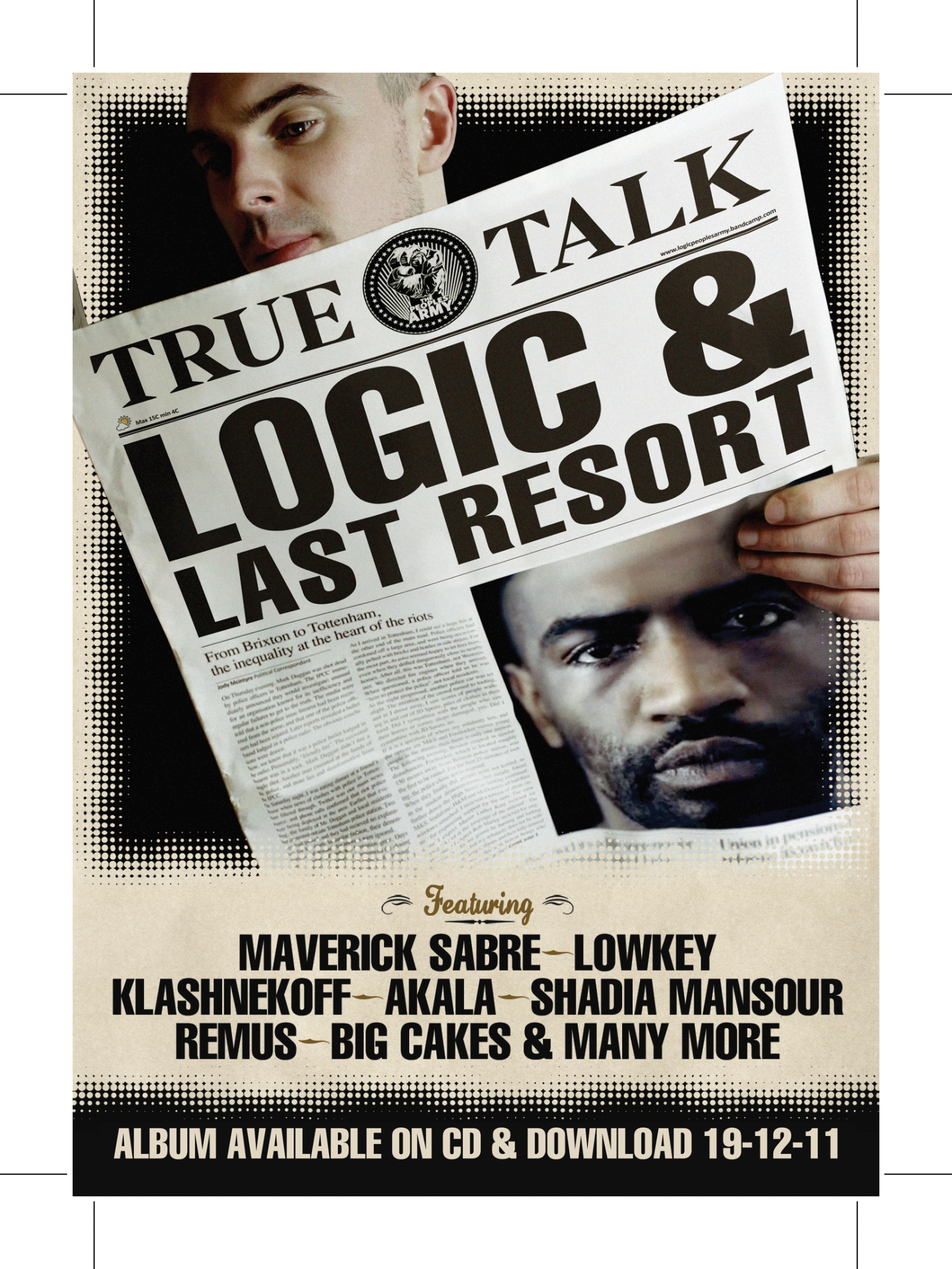 Album Review: Logic & Last Resort True Talk